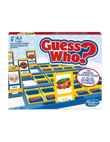 Hasbro Guess Who Board Game-MULTI-One Size
