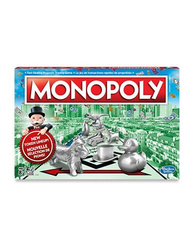Hasbro Classic Monopoly Board Game-MULTI-One Size