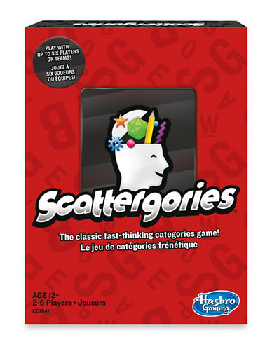 Hasbro Scattergories Board Game-MULTI-One Size
