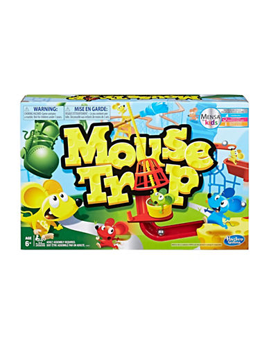 Hasbro Classic Mousetrap Board Game-MULTI-One Size