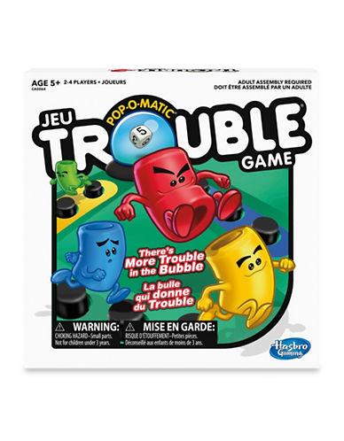 Hasbro Pop-O-Matic Trouble Board Game-MULTI-One Size