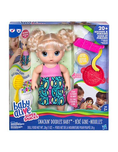 Baby Alive BA Snackin Noodles Baby -  Blonde-MULTI-One Size