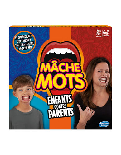Hasbro Speak Out Kids vs Parents Game French-MULTI-One Size