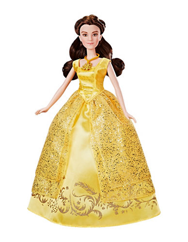 Disney Beauty and the Beast Enchanting Melodies Belle Doll-MULTI-One Size