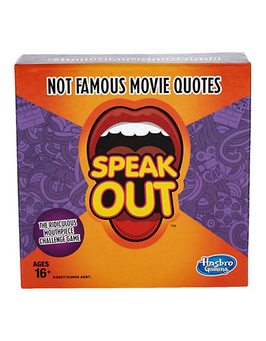 Hasbro Speak Out Famous Movie Quotes-MULTI-One Size