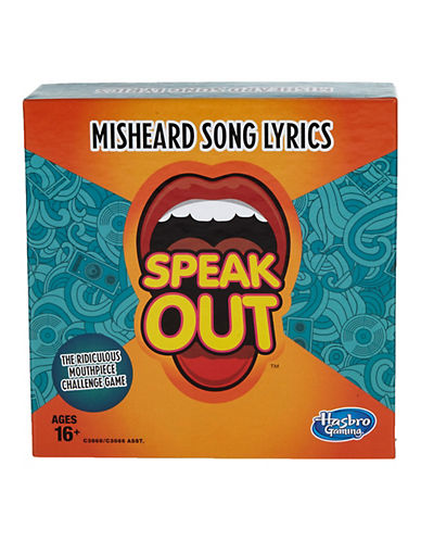 Hasbro Speak Out Misheard Song Lyrics-MULTI-One Size