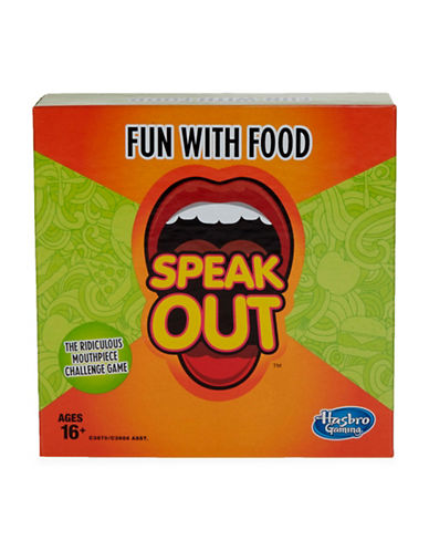 Hasbro Speak Out Fun with Food-MULTI-One Size