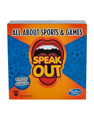 Hasbro Speak Out All About Sports & Games-MULTI-One Size
