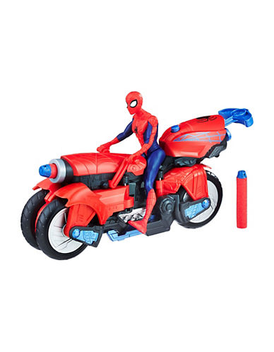 Marvel Marvel Spider-Man Figure and 3-in-1 Spider Cycle 90032729
