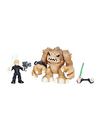 Star Wars Star Wars Galactic Heroes Luke Skywalker and Rancor 90047254