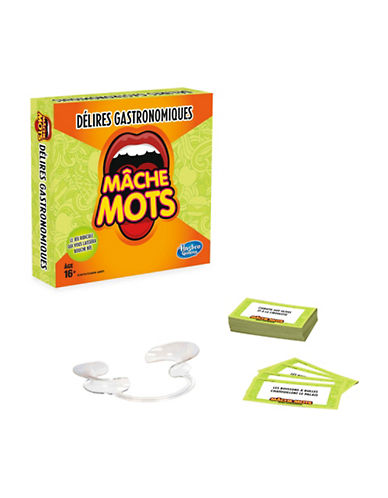 Hasbro Speak Out Expansion Pack: In The Mood For Food (French Version)-MULTI-One Size