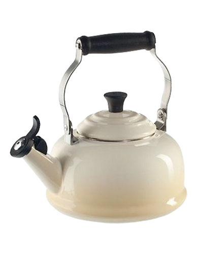 Le Creuset Classic Whistling Kettle - 1.8 quart Kettle - Enamel Steel, Carbon Steel, Stainless Steel Handle, Phenolic Knob