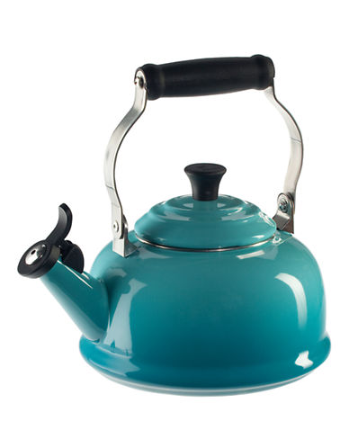 Le Creuset Classic Whistling Kettle-CARIBBEAN BLUE-1.7L