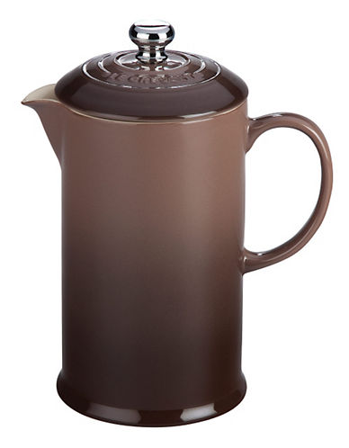 Le Creuset French Press-TRUFFLE-One Size 85930878_TRUFFLE_One Size