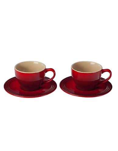 Le Creuset Cappuccino Set of 2-CERISE-One Size