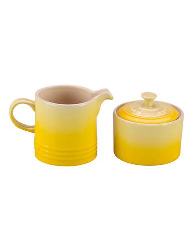 Le Creuset Cream and Sugar Set-SOLEIL-One Size