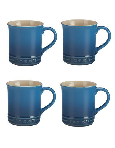 Le Creuset Set Of Four Mugs-MARSEILLE-One Size