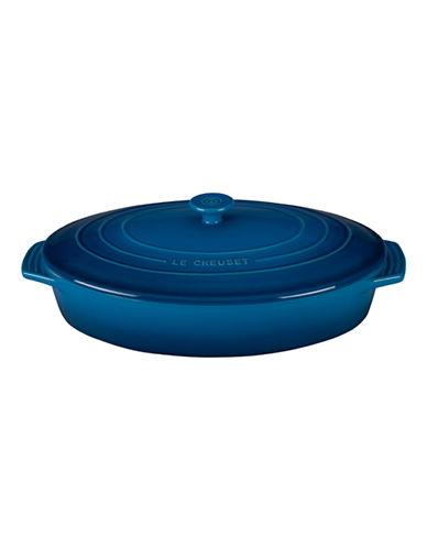 Le Creuset Oval Casserole with Lid-MARSEILLE-One Size