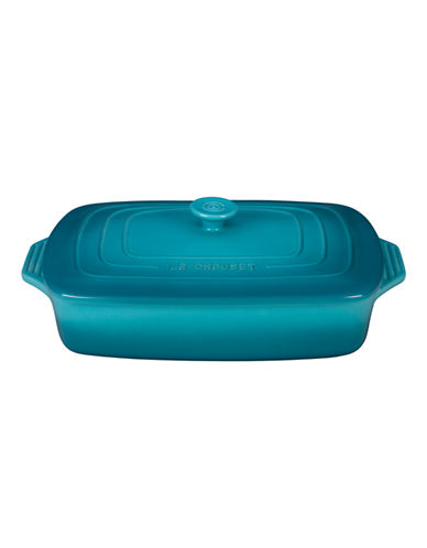 Le Creuset Rectangular Casserole with Lid-CARRIBEAN-3.3L