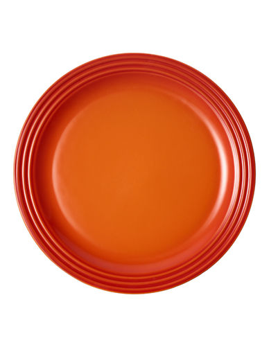 Le Creuset 4-Piece Dinner Plate Set-FLAME-One Size