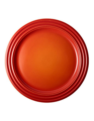 Le Creuset 4-Piece Salad Dessert Plate Set-FLAME-One Size