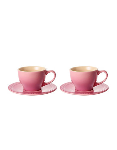 Le Creuset Set of Two Cappuccino Cups-BONBON-One Size