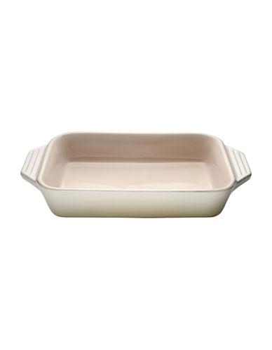 Le Creuset 1.7 L Rectangular Dish-WHITE-1.7L