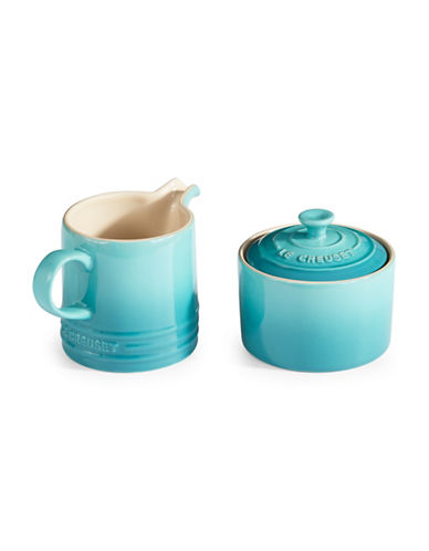 Le Creuset Cafe Sugar and Creamer Set-CARIBBEAN-300 ml