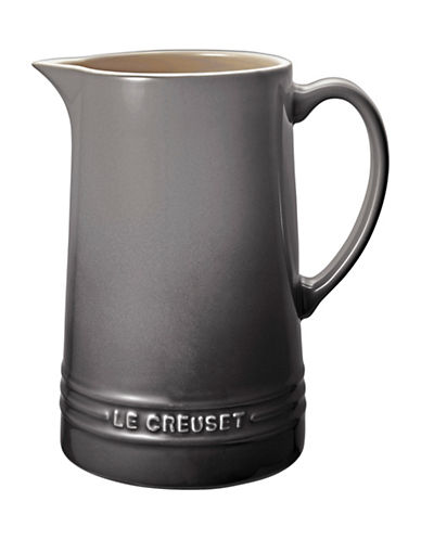 Le Creuset Stoneware Pitcher-OYSTER-One Size