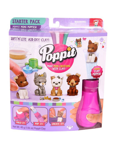 Poppit Poppit Mini Puppies Starter Kit-MULTI-One Size