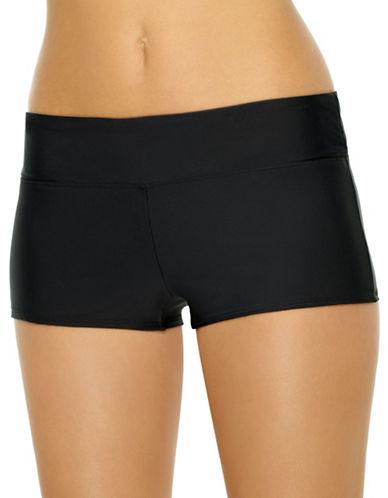 Christina Blue Boyleg Bikini Bottom-BLACK-8