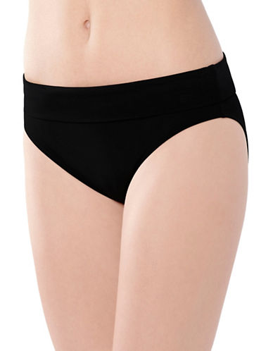 Captiva Sunset Adjustable Bikini Bottoms-BLACK-Small