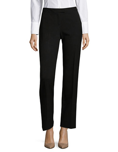 Jones New York Sydney Straight-Leg Pants-BLACK-10