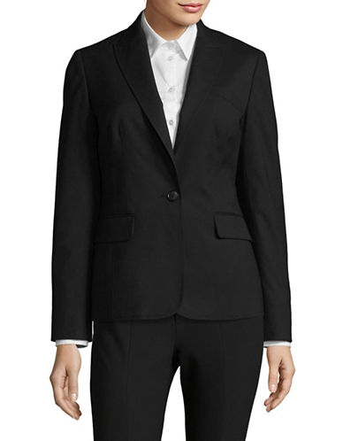 Jones New York Sleek Suit Jacket-BLACK-12