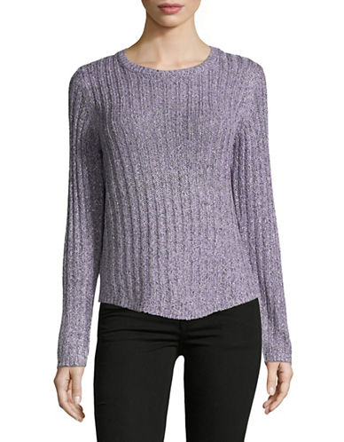 Jones New York Easy Fit Pullover-PURPLE-Large