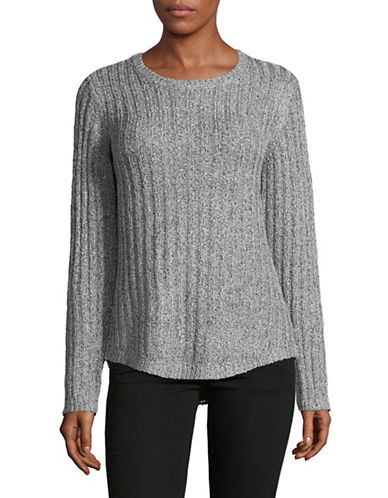 Jones New York Easy Fit Pullover-GREY-Small