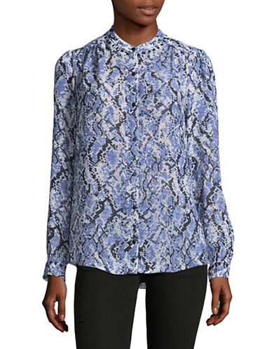 Jones New York Printed Tunic-DUSK COMBO-X-Large
