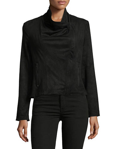 Jones New York Drapey Jacket-BLACK-X-Large