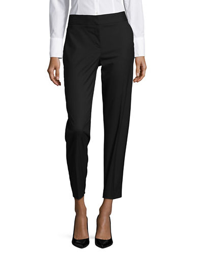 Jones New York Classic Ankle Trousers-BLACK-12