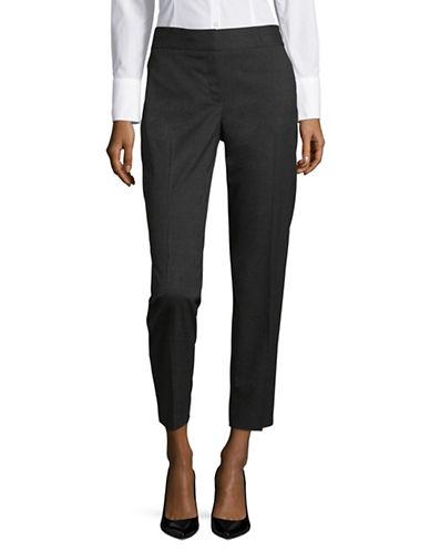 Jones New York Basic Slim-Fit Pants-GREY-12