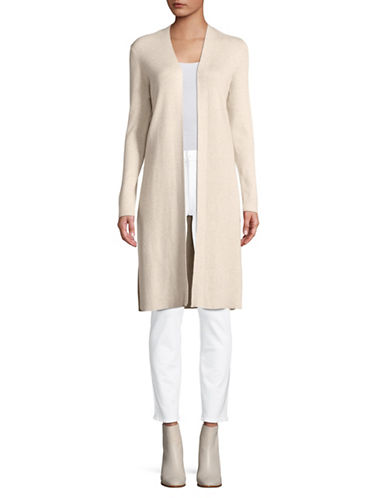 Jones New York Open Front Cardigan-BIRCH-Medium