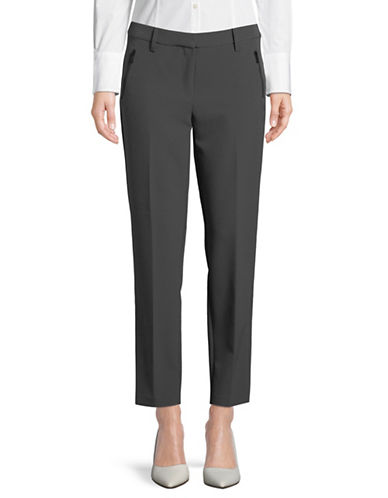 Jones New York Ella Ankle Pants-GREY-14