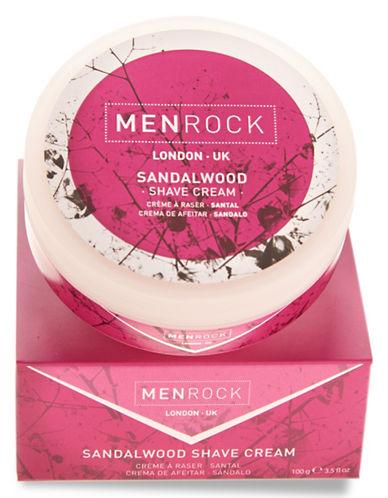 Men Rock Sandalwood Shave Cream-NO COLOUR-50 ml