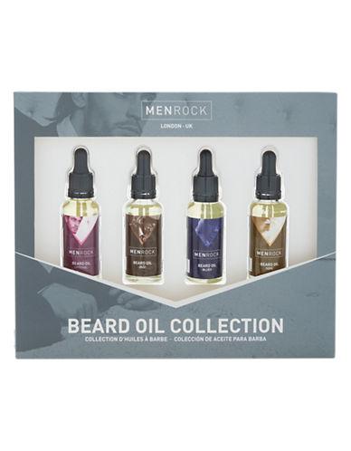Men Rock Four Piece Beard Oil Collection-NO COLOUR-50 ml
