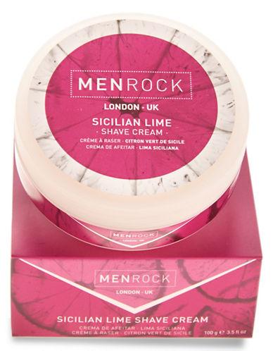 Men Rock Sicilian Lime Shave Cream-NO COLOUR-50 ml