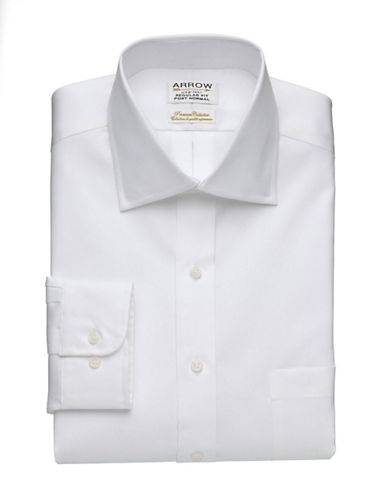 Arrow Premium Collection Shirt-WHITE-18.5-34/35
