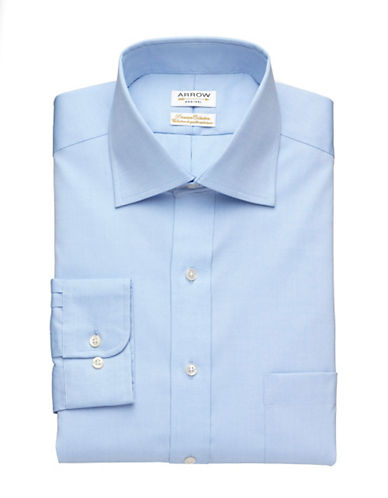 Arrow Premium Collection Shirt-BLUE MIST-14.5-32/33