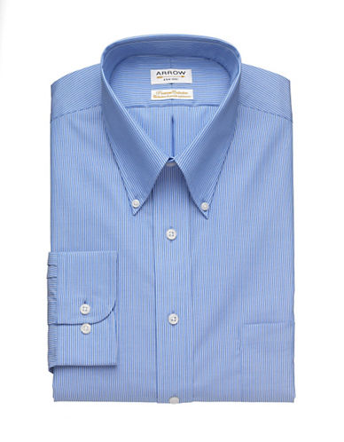 Arrow Premium Collection Shirt-BLUE-17.5-32/33