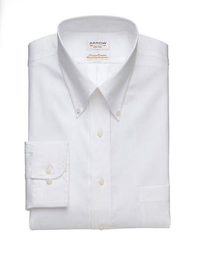 Arrow Premium Collection Shirt-WHITE-16.5-32/33