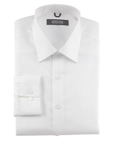 Kenneth Cole Reaction Premium Collection Shirt-WHITE-17.5-32/33
